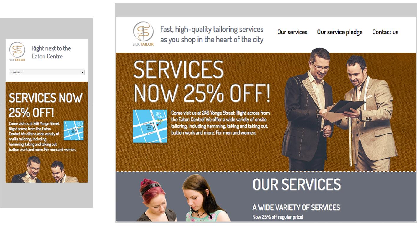 Silk Tailor's website